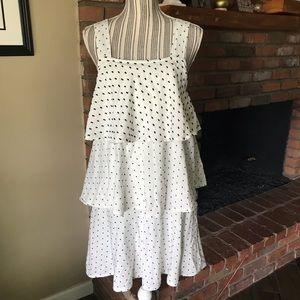 NWT Ace & Jig Simone Dress Pearl Polka Dots Sz XS